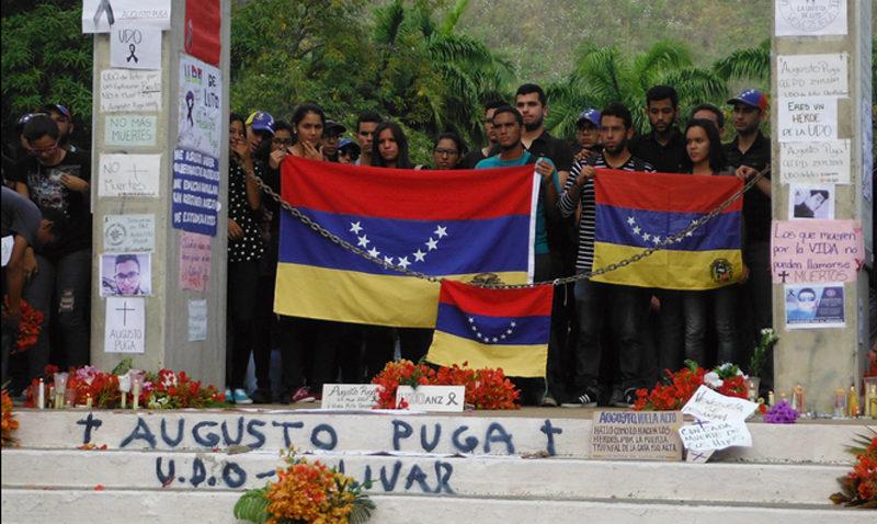 UCAB Guayana se une al duelo por la muerte del estudiante Augusto Puga