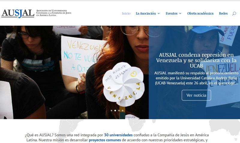 La AUSJAL rediseña y reestrena su portal web