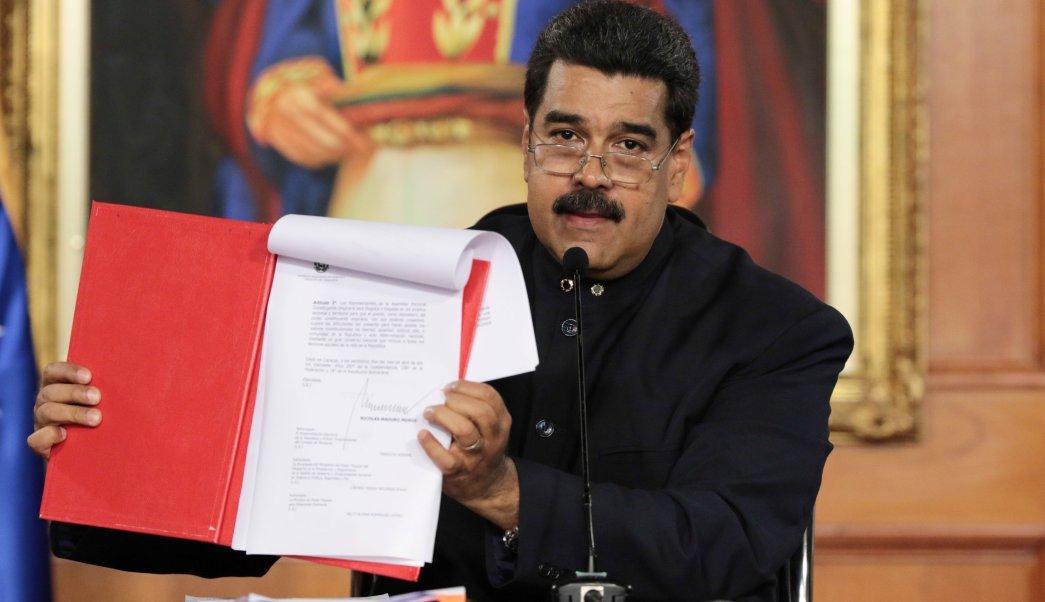 Profesores de Derecho Constitucional de la UCAB se pronuncian contra Constituyente
