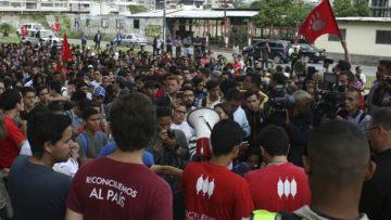 #Fotogalería: Así fue la marcha ucabista a la Conferencia Episcopal Venezolana