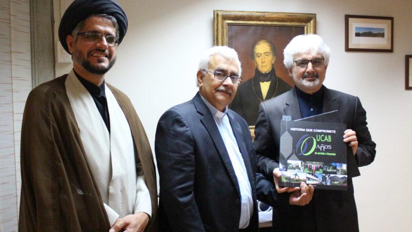 La UCAB firmó convenio con Universidad Internacional Al-Mustafá