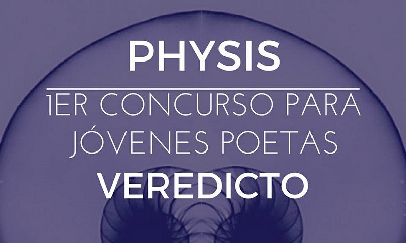 Concurso Physis para Jóvenes Poetas ya tiene ganadores