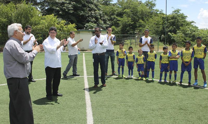 Escuela de Fútbol Menor UCAB Guayana dio su pitazo inicial