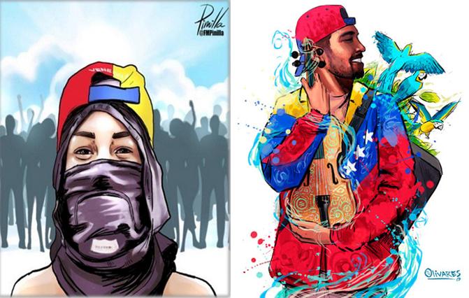 """Artistas venezolanos asistirán a la UCAB para """"ilustrar un país"""""""