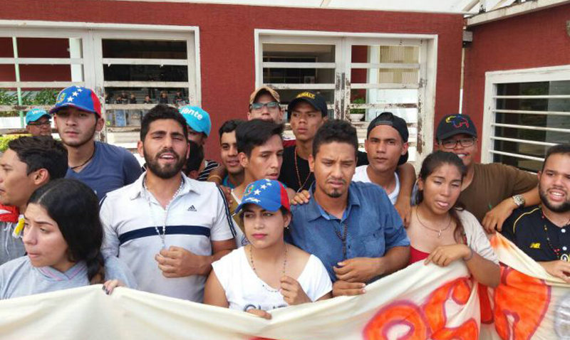 Liberados los ucabistas detenidos en Guayana