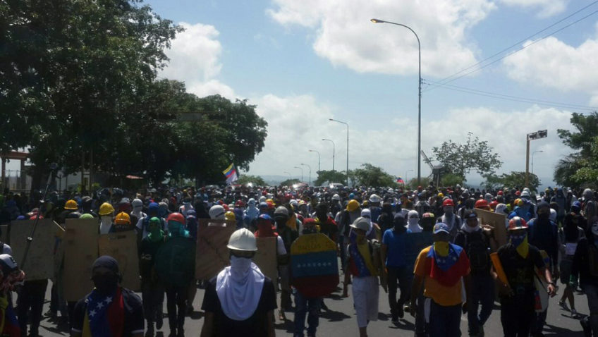 La UCAB Guayana rechaza nueva detención de estudiantes
