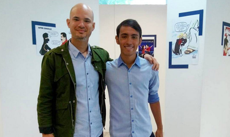 """Dos artistas venezolanos """"ilustran un país"""" para inspirar a otros"""