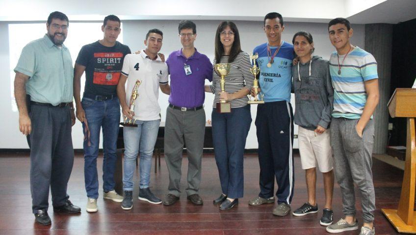 UCAB Guayana premió a ganadores de sus juegos deportivos 2017
