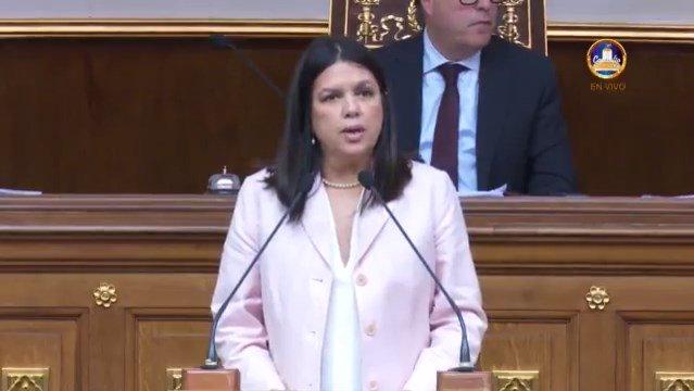 Habla la historia: Las palabras de Inés Quintero en la Asamblea Nacional