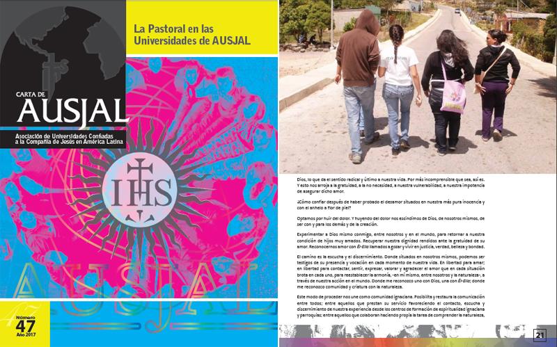 La AUSJAL dedica su nueva publicación a la labor pastoral universitaria