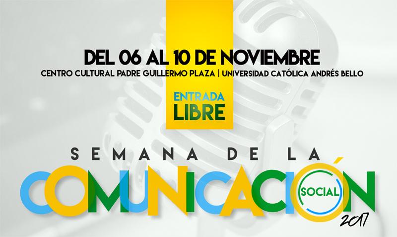 Las tendencias de la comunicación social venezolana se discutirán en la UCAB