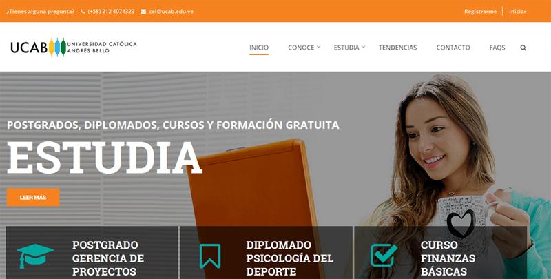 Nace UCAB Virtual, el portal del Centro de Estudios en Línea