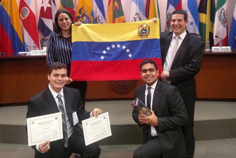 Estudiantes ucabistas triunfaron en competencia internacional de derechos humanos