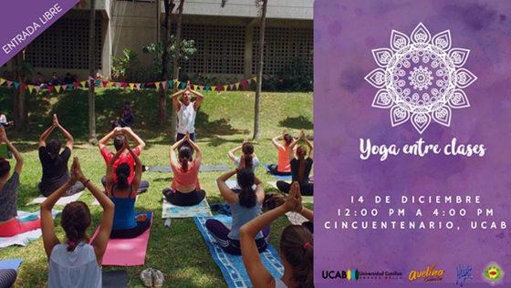 """""""Yoga entre Clases"""" regresa a la UCAB"""