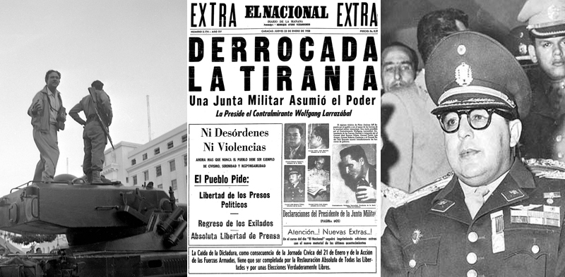 12 datos para recordar el 23 de enero de 1958