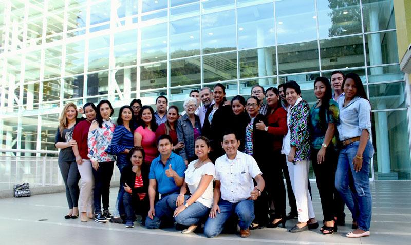 Estudiantes de Ecuador se forman en la UCAB