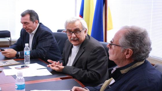 """Rector Francisco Virtuoso: """"Hay que rescatar el espíritu unitario del 23 de enero"""""""
