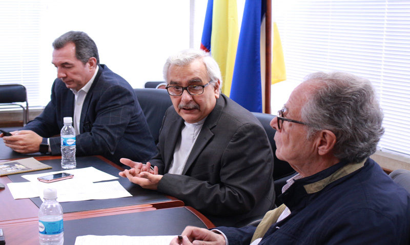 Rector Francisco Virtuoso: «Hay que rescatar el espíritu unitario del 23 de enero»