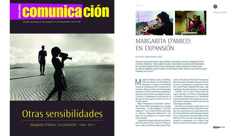 La revista Comunicación rinde tributo a Margarita D´Amico