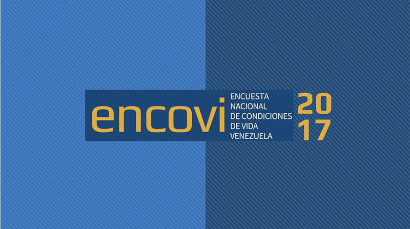 En video: Presentación de resultados ENCOVI 2017