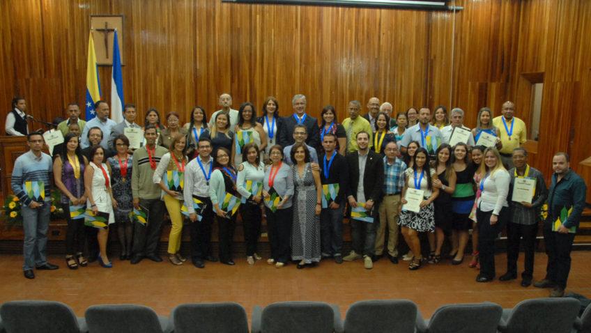 Empleados de la UCAB celebraron sus años de servicio