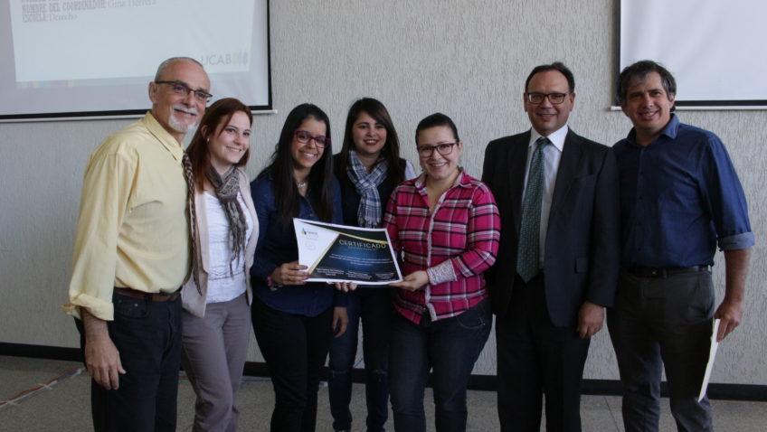 Clínica Jurídica de Derecho galardonada como proyecto estrella de servicio comunitario