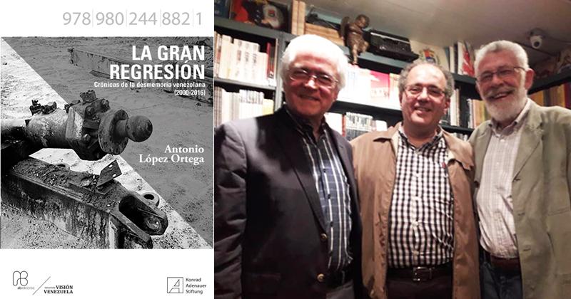 """Abediciones presentó """"La gran regresión"""" de Antonio López Ortega"""