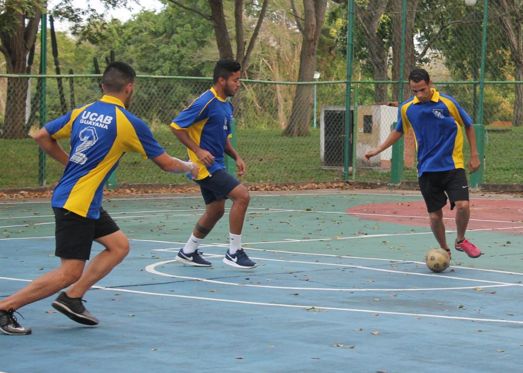 Fútbol de salón Ucab Guayana