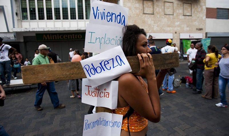 Vía Crucis de Jesús y del pueblo venezolano