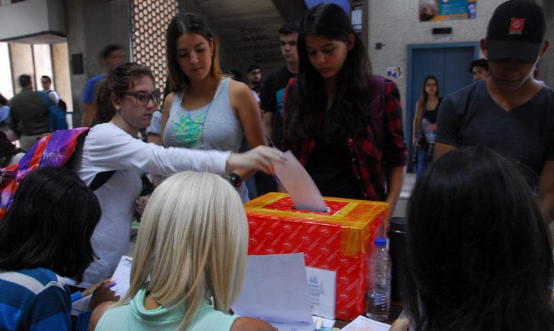 Elecciones estudiantiles serán el 31 de mayo
