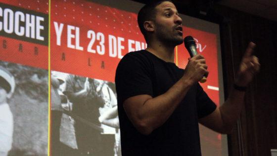 Greivis Vásquez ofreció charla motivacional a los ucabistas