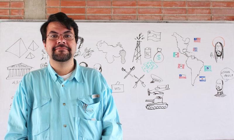 Profesores que inspiran: Daniel Terán