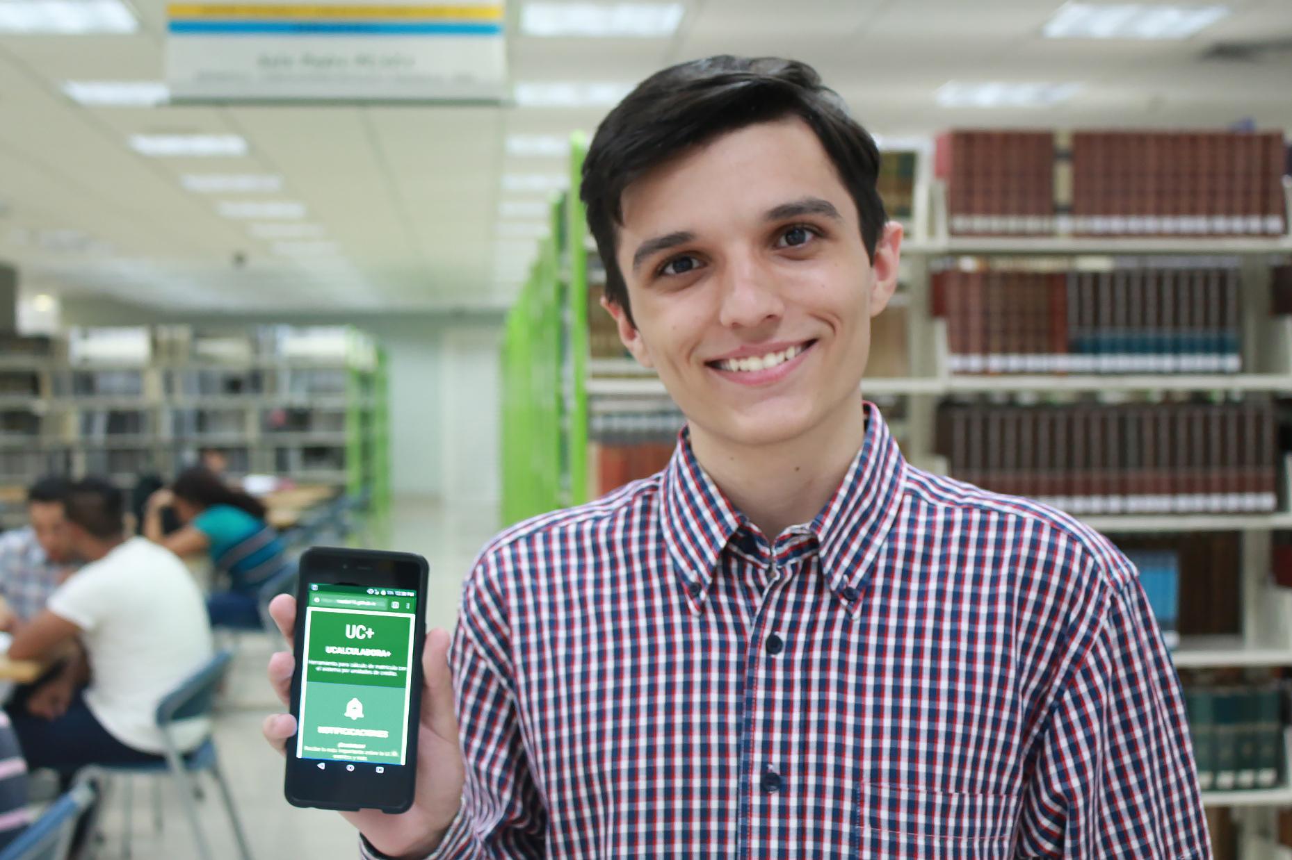 Miguel De Olim: el ingenioso estudiante que creó la UCalculadora