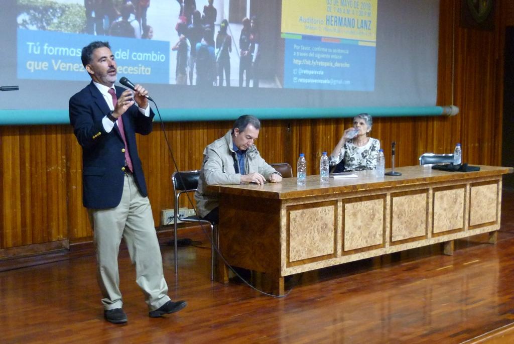 Miguel Mónaco: Hay que conciliar con la otra parte para unificar el sistema jurídico
