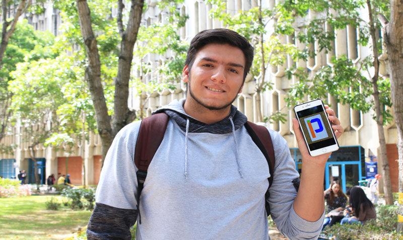 Daniel Chávez: El estudiante creador de la app PartiClass