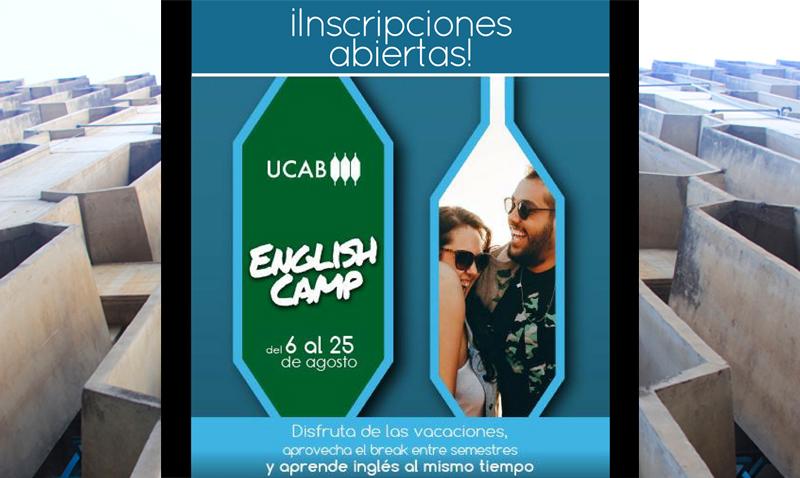 Convocan a ucabistas a inscribirse en campamento de inglés