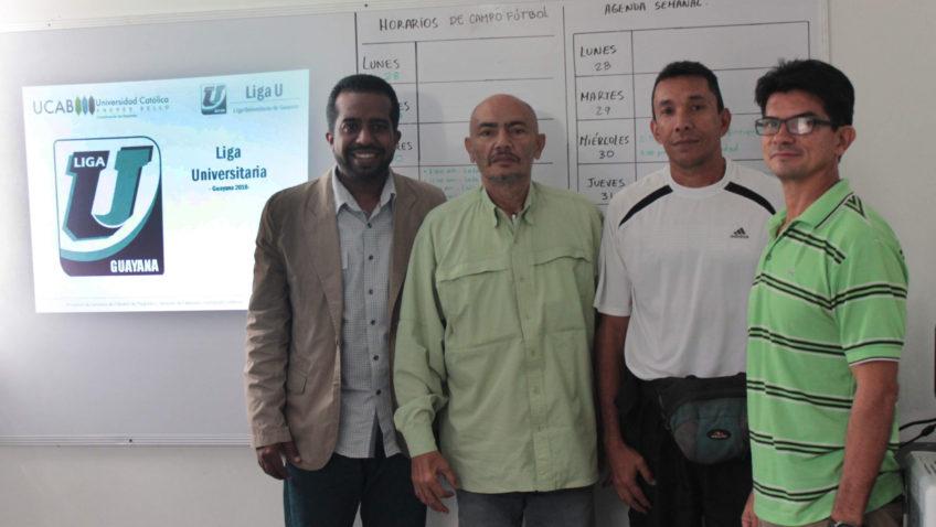 Liga U de Guayana, nuevo reto deportivo universitario