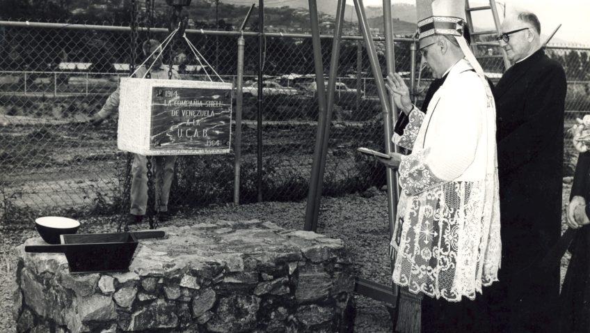 #TBTUCAB: Así comenzó la construcción de la primera biblioteca del campus Montalbán