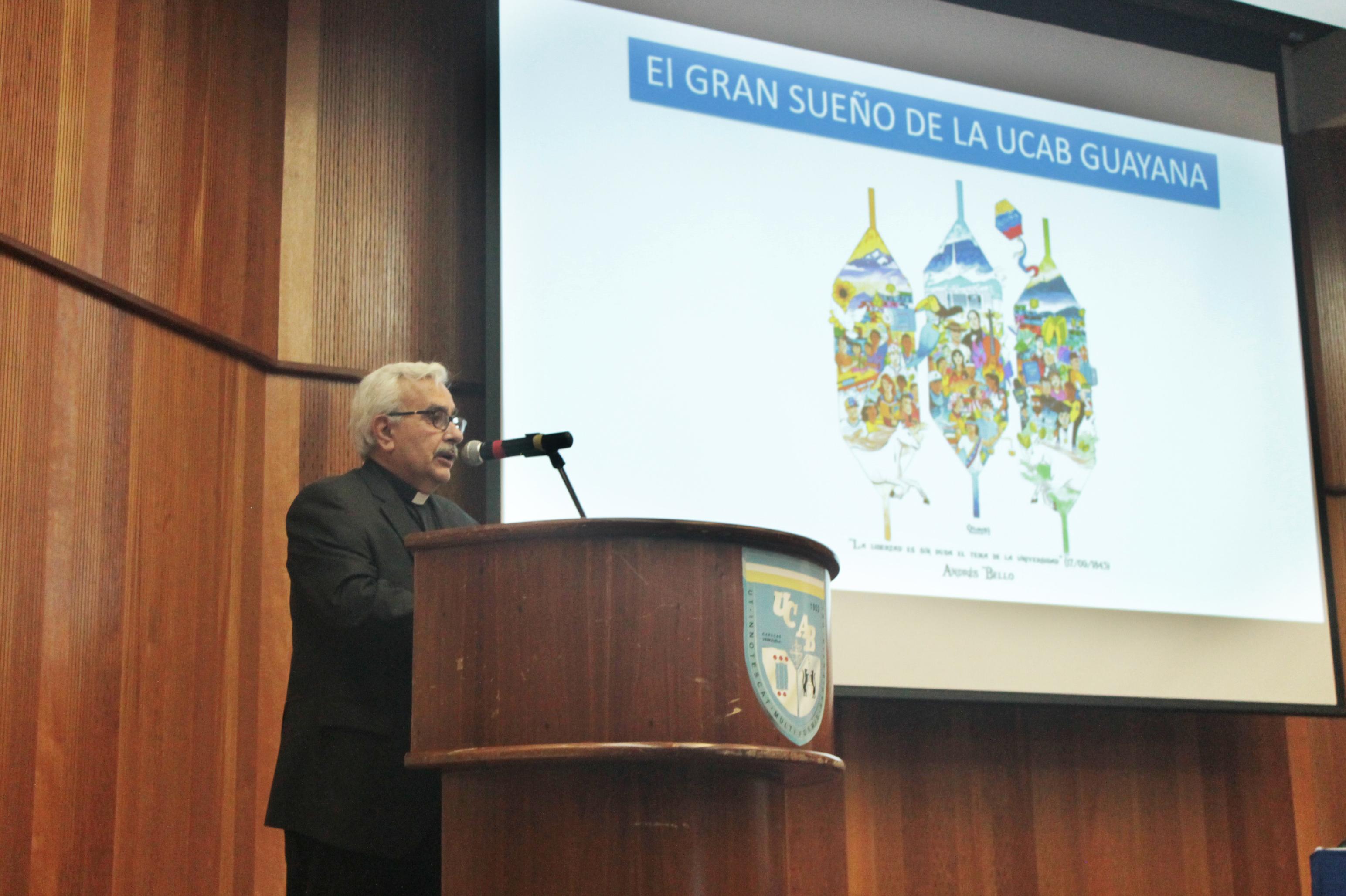 UCAB Guayana presentó sus horizontes compartidos de país
