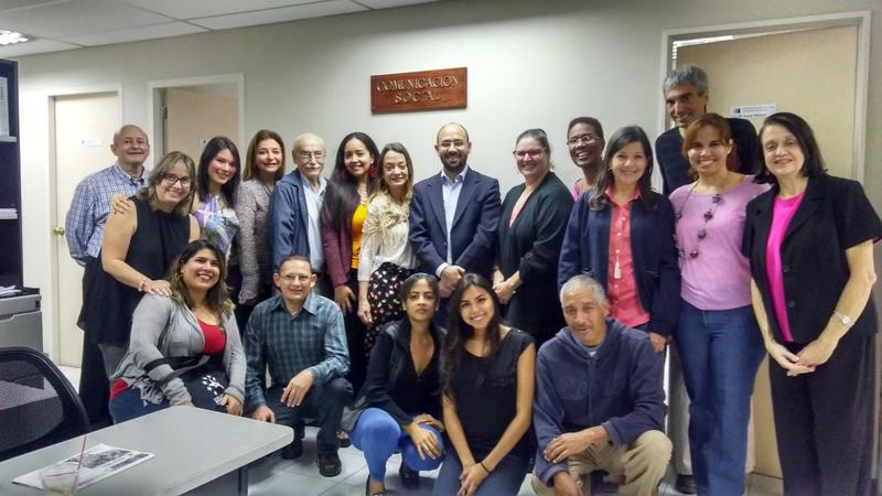 Escuela de Comunicación Social de Caracas estrenó oficinas