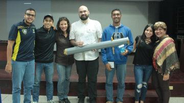 Ucabistas de Guayana presentaron prototipos ecológicos