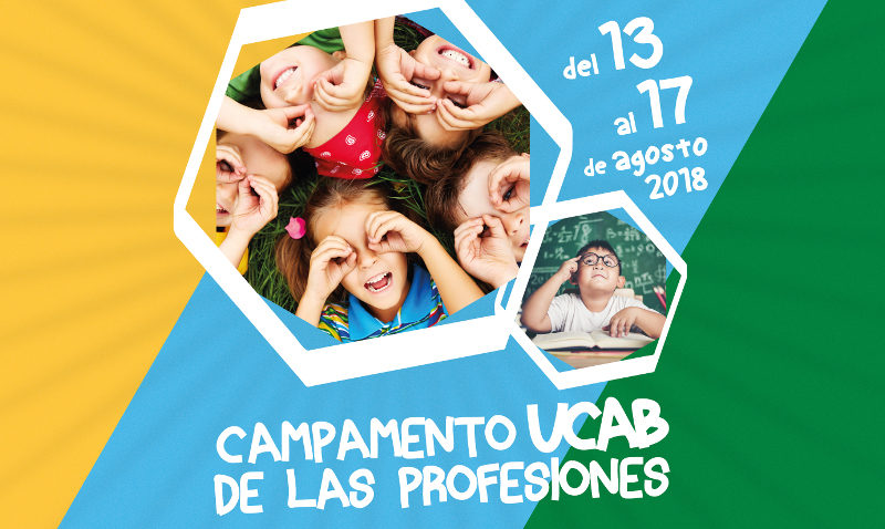 Innovador campamento vacacional infantil organiza la UCAB