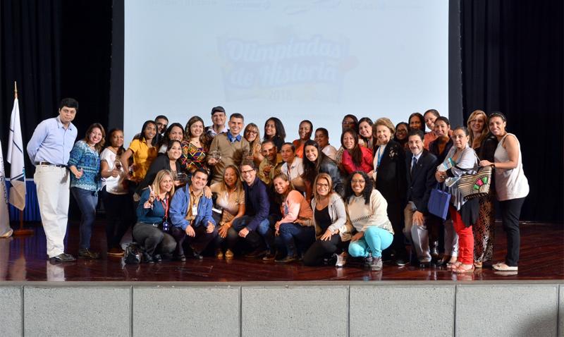 Más de 300 estudiantes fueron premiados en Olimpiadas de Historia 2018