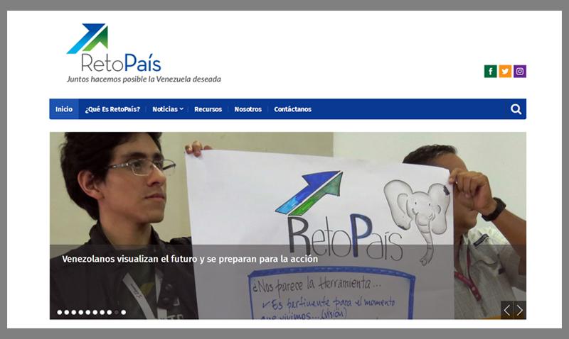 Reto País en la web, un espacio para comunicar ciudadanía