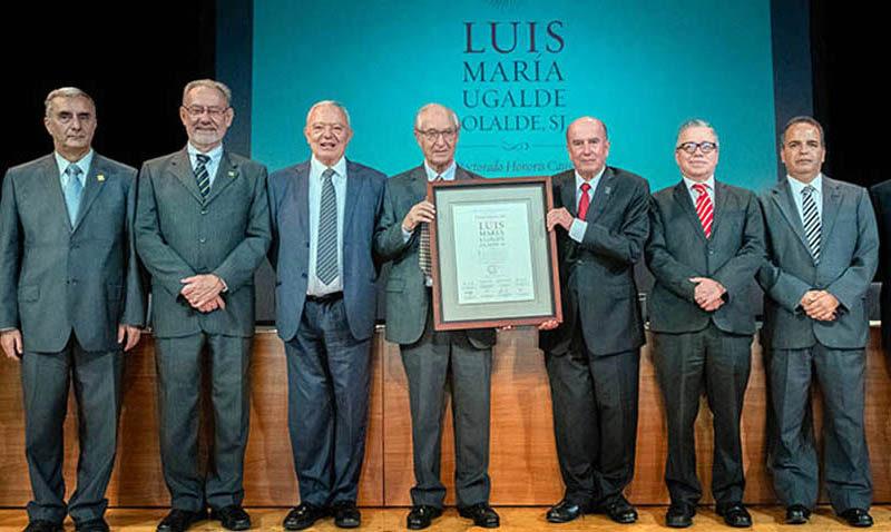 Luis Ugalde recibió en México Doctorado Honoris Causa