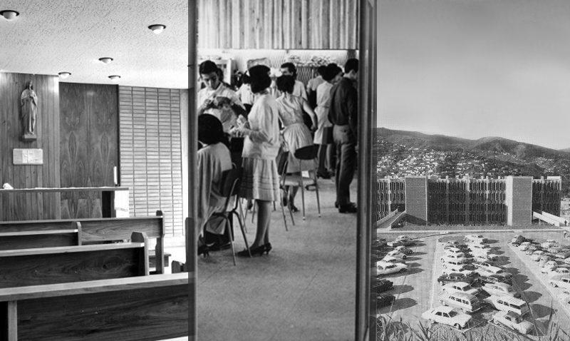 #TBTUCAB: Sitios emblemáticos del campus en los años 60
