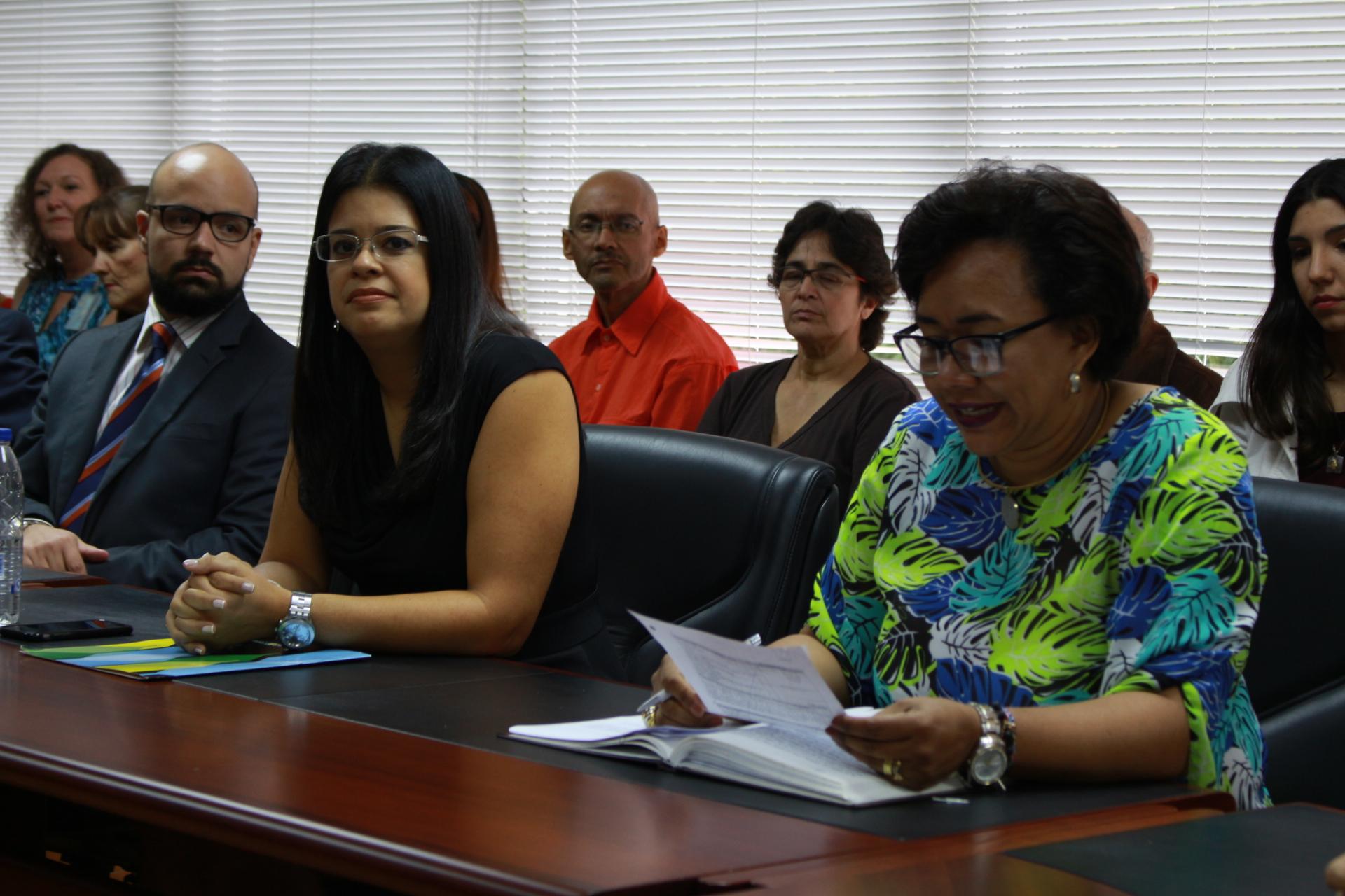 Juramentados seis directores de escuelas e institutos de la UCAB