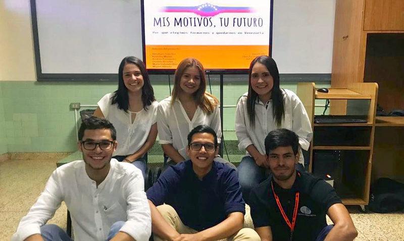 Ucabistas crean grupo interuniversitario para motivar a futuros bachilleres a estudiar una carrera