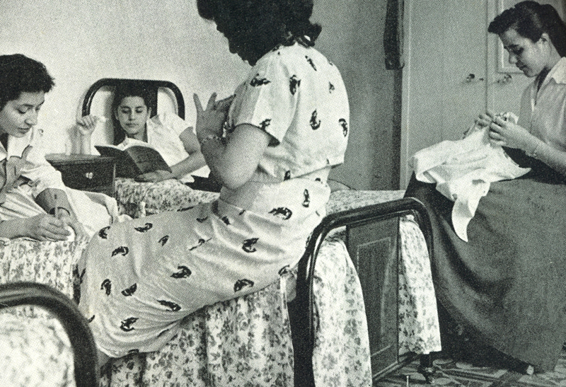 #TBTUCAB: ¿Una residencia universitaria femenina?