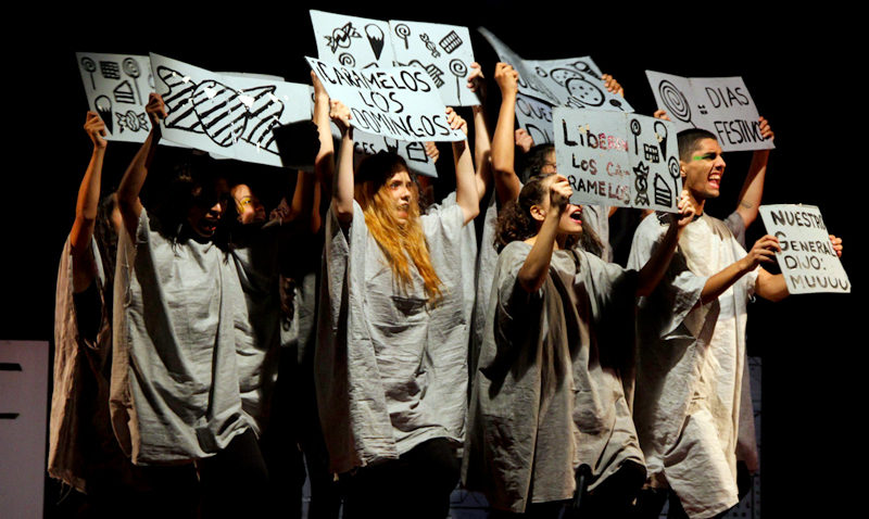 """Teatro UCAB invita a levantarse contra la tristeza con """"El Generalito"""""""